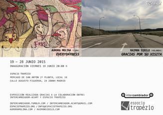Everydayness, a series of drawing threading contemporary Spanish Society. @intercambiador acart.