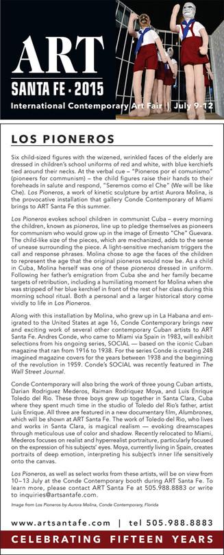 Conde Contemporary / Aurora Molina Featured by Art Santa Fe