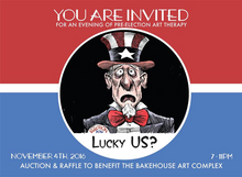 Lucky Us? Bake House Art Complex. Curated by Yuni Villalonga.