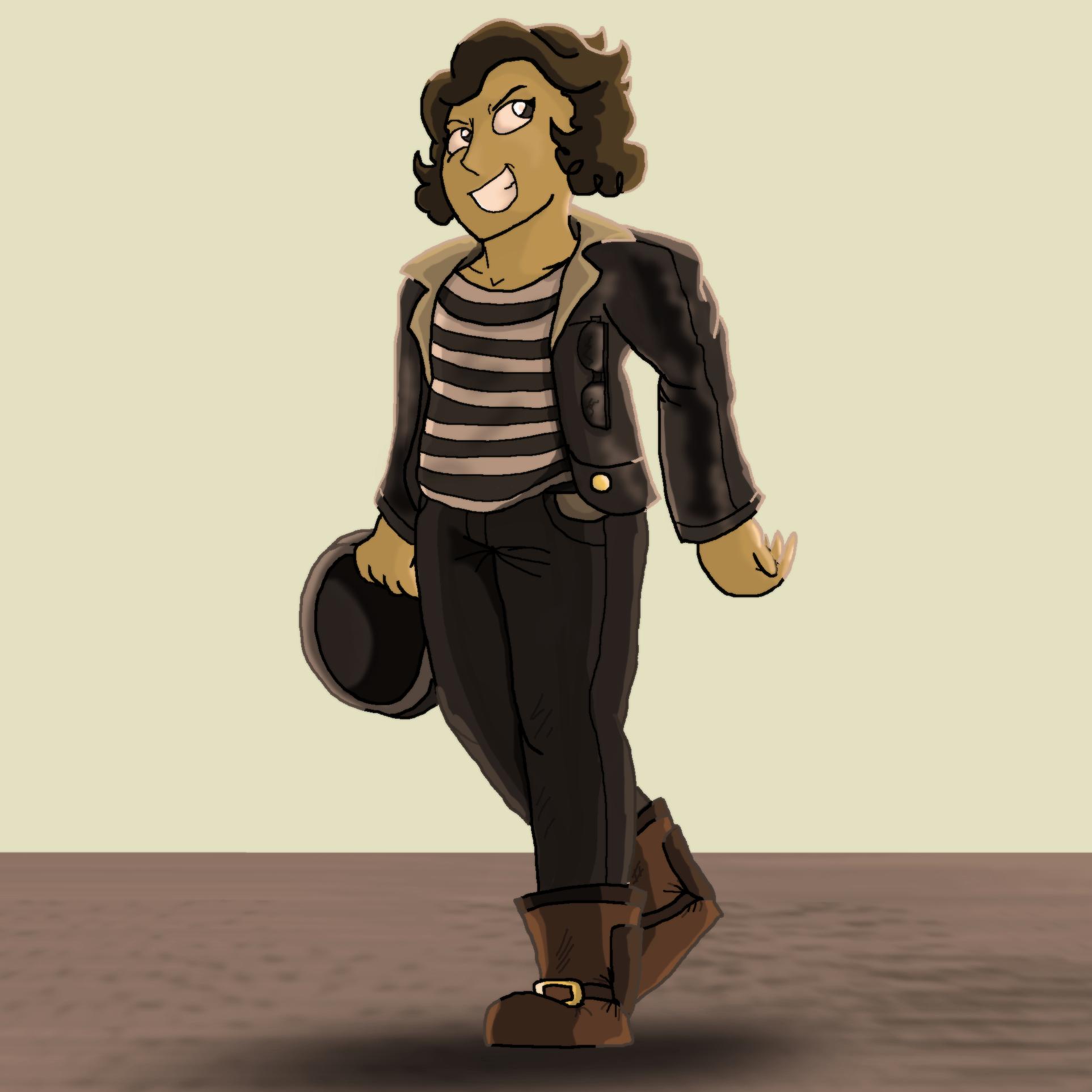 Greaser Girl Ember