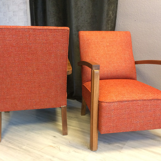 Paire de fauteuils 40'
