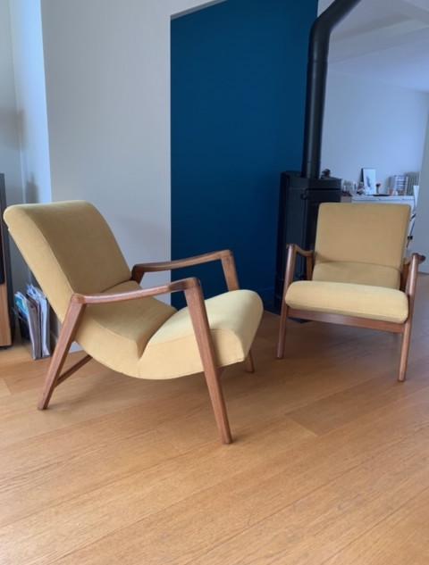 Paire de fauteuils G-Plan
