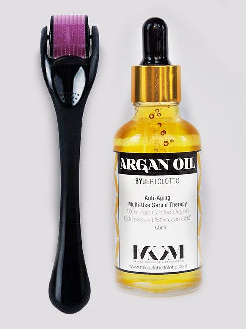 Dermaroller & Argan Oil Natural
