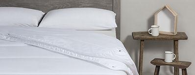 couette et duvet bordeaux linge de lit
