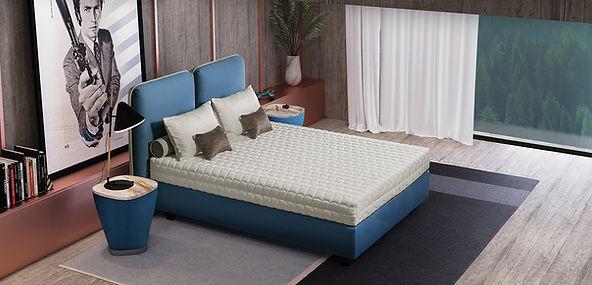 clint tete de lit colunex bordeaux