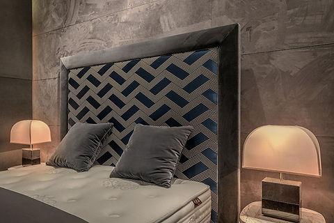 frame tete de lit colunex bordeaux