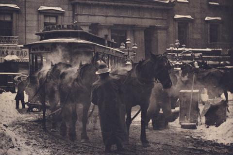Alfred Stieglitz (1864-1946), The Terminal, 1892