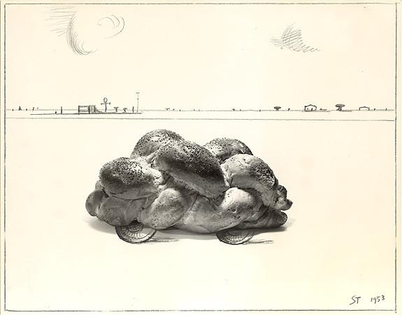 Saul Steinberg, Car, 1953