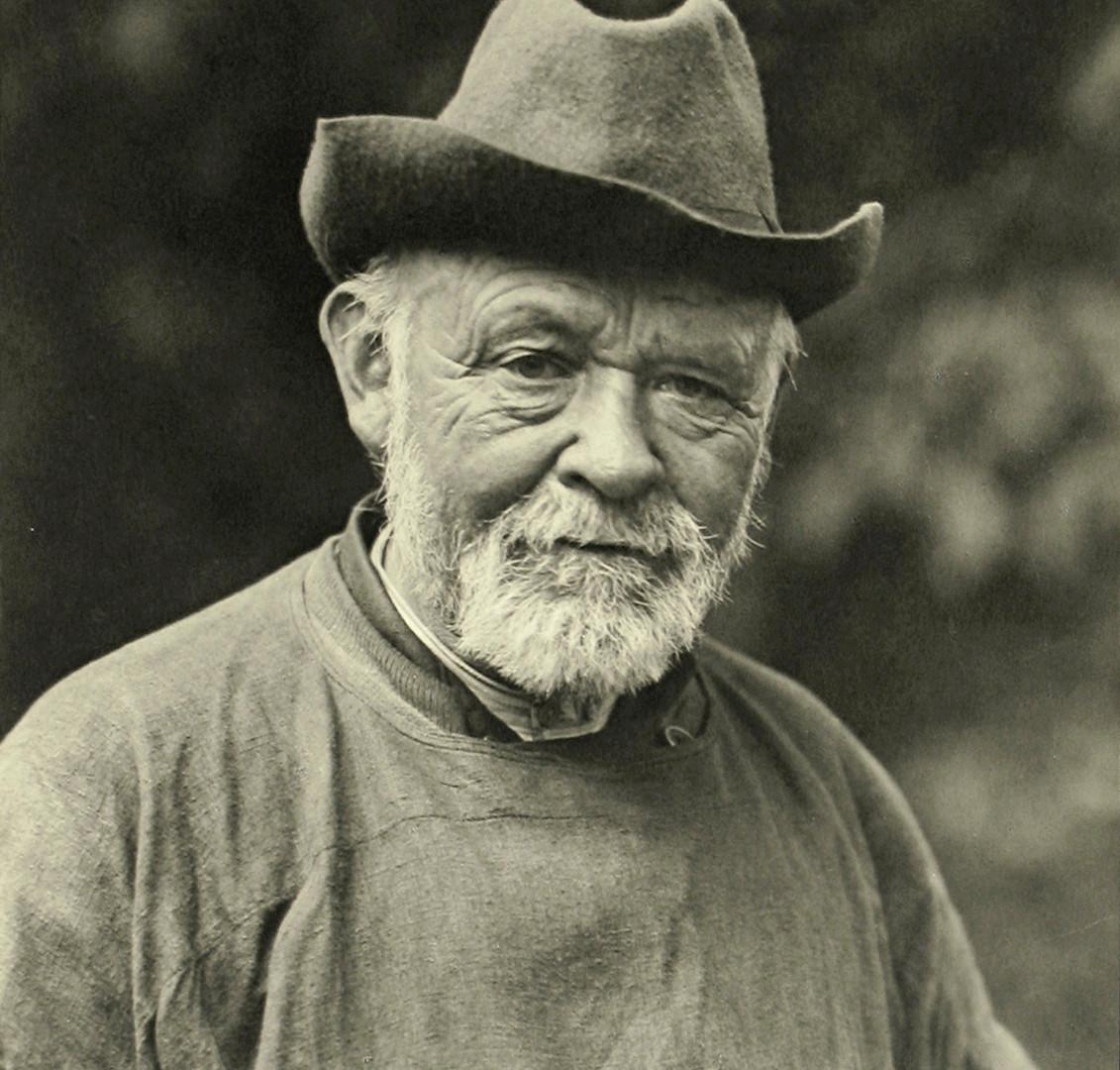 August Sander, The Sage, 1913