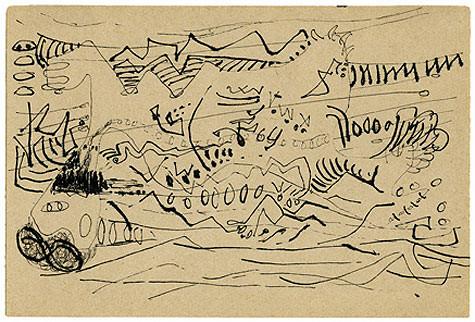 Jackson Pollock, Untitled, c. 1945