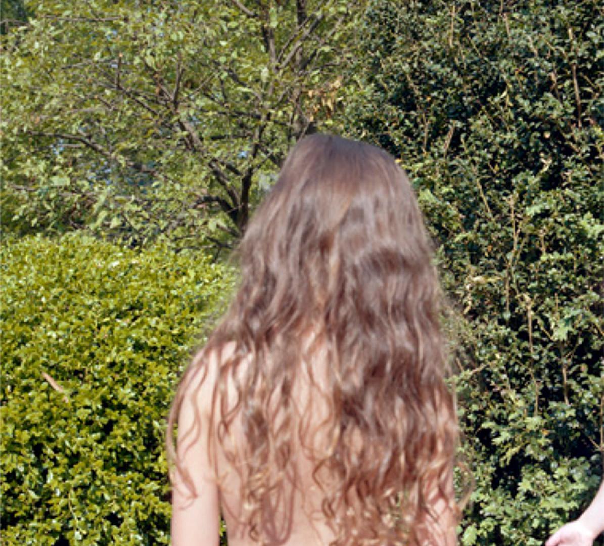 Jocelyn Lee, Untitled (Pearl's hair in Mom's garden), 2008
