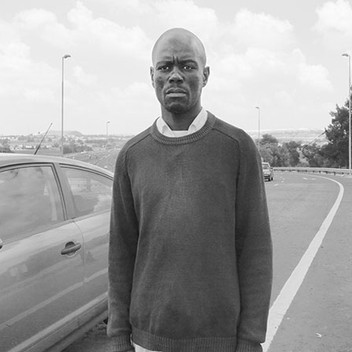 David Goldblatt, Ex-Offenders: Here, in 2005, Goodman Nhlanhla Hlope smashed a car window with a spark plug to steal a woman's handbag and cellphone. Maraisburg. , 18 February 2010