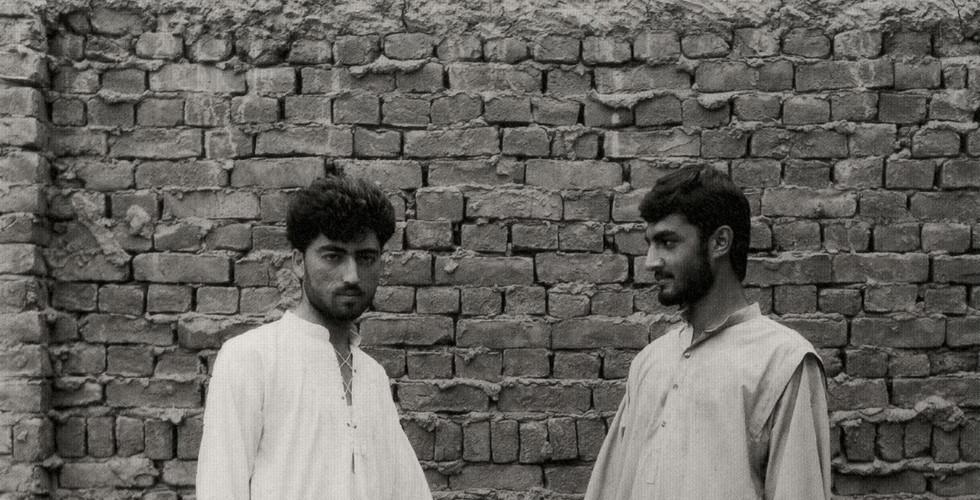 Fazal Sheikh, Cousins, Afghan Refugee Village, North Western Province, Pakistan, 1996