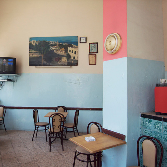 Yto Barrada, Café, rue Lafayette, 2009