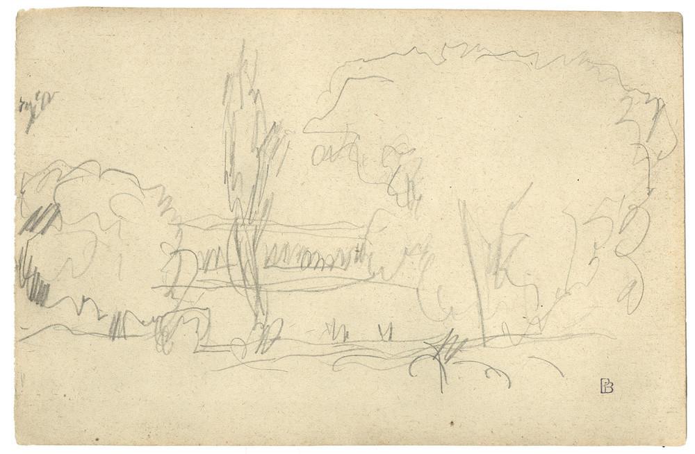 Pierre Bonnard, Bords de riviére, c. 1917