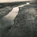 Emmet Gowin, Old Hanford City Site, Hanford Nuclear Reservation, near Richland, Washington, 1986