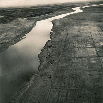 Emmet Gowin, Old Hanford City Site, Hanford Nuclear Reservation, near Richland, Washington, 1986