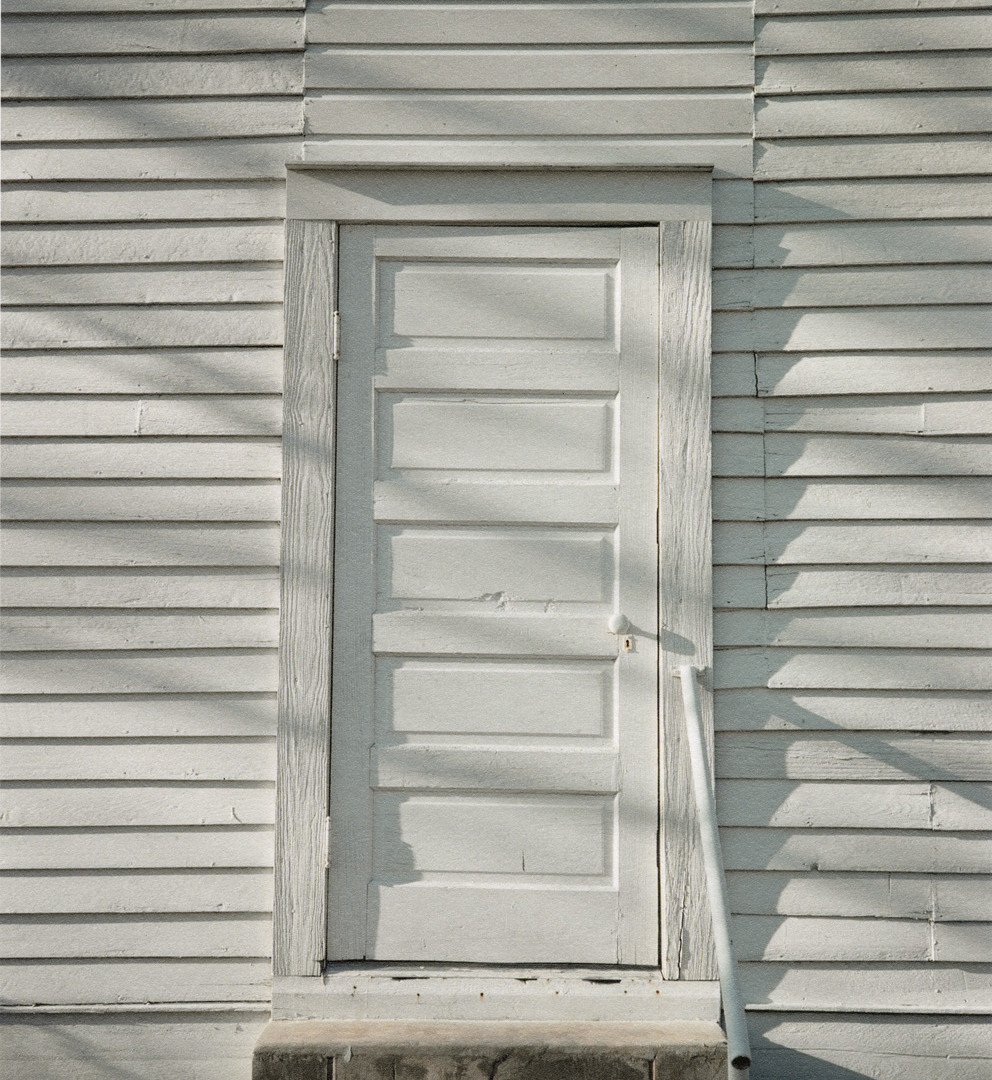 William Christenberry, Door, Havana Methodist Church, Havana, Alabama, 1976