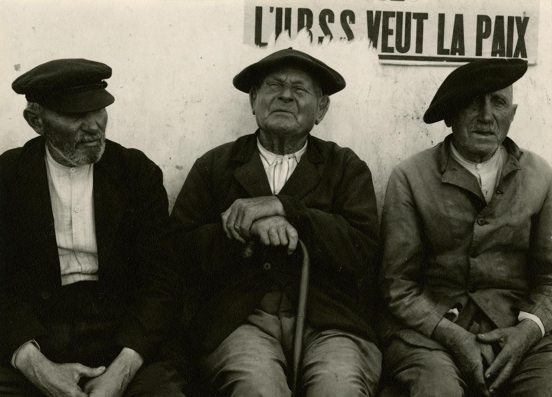 Paul Strand, Fisherman, Douranenez, Finistere, Brittany, France, 1950