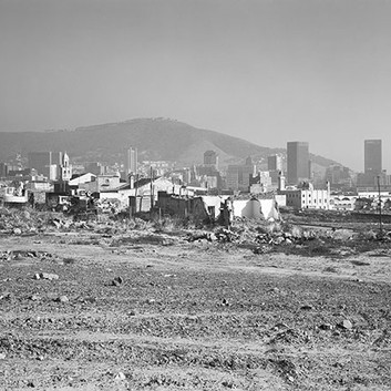 David Goldblatt, The destruction of District Six under the Group Areas Act. Cape Town, Cape. , 5 May 1982