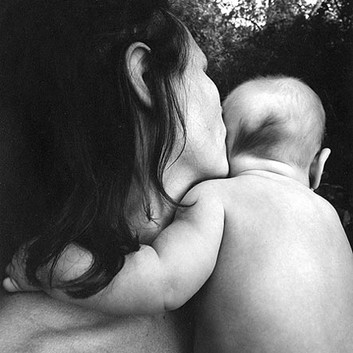 Emmet Gowin, Edith and Isaac, Danville, Virginia, 1974