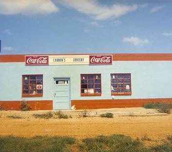 William Christenberry, Cannon's Grocery, Near Greensboro, Alabama, 1972