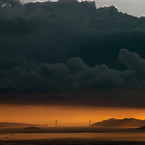 Richard Misrach, Golden Gate Bridge, 9.26.98, 6:31 P.M., 1998