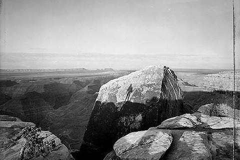 Mark Klett, Witness to Sunrise, Muley Point, Utah, 5/24/88