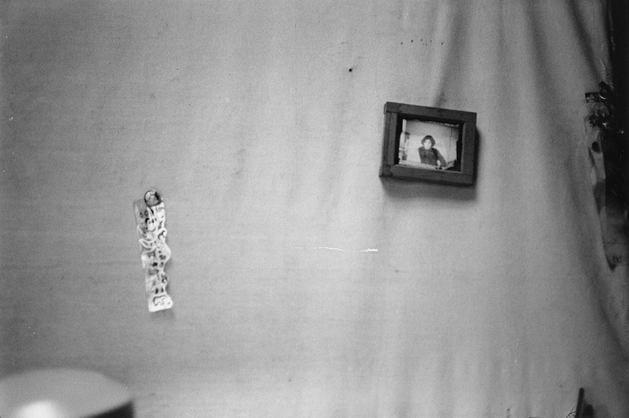 Robert Frank, Studio at Bleecker Street, n.d.
