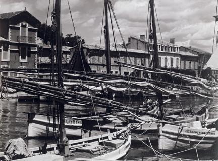 Paul Strand (1890-1976), Boats in Harbor, Le Grau-du Roi, Gard, Provence, France, 1950