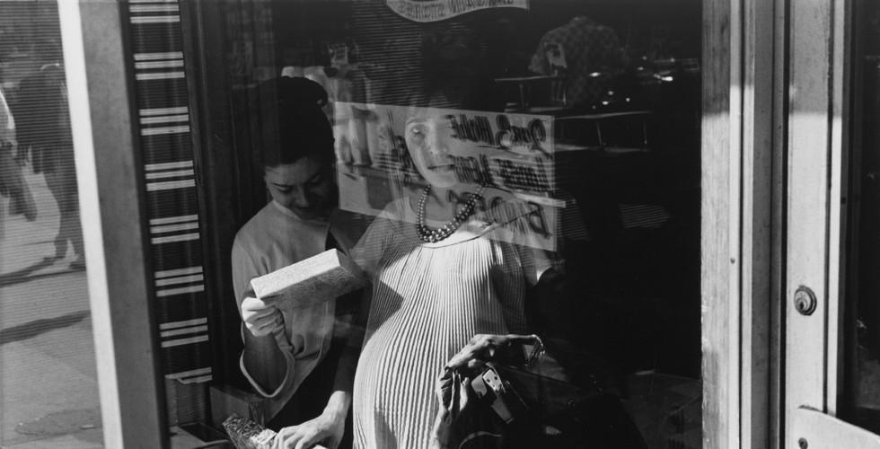 Lee Friedlander, New York City (Woman in Window), 1963