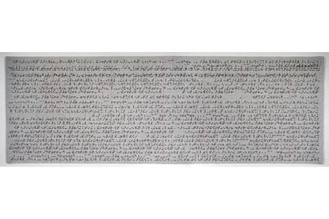 Guillermo Galindo, Codigo forense en braille / Braille Forensic Codex, 2015