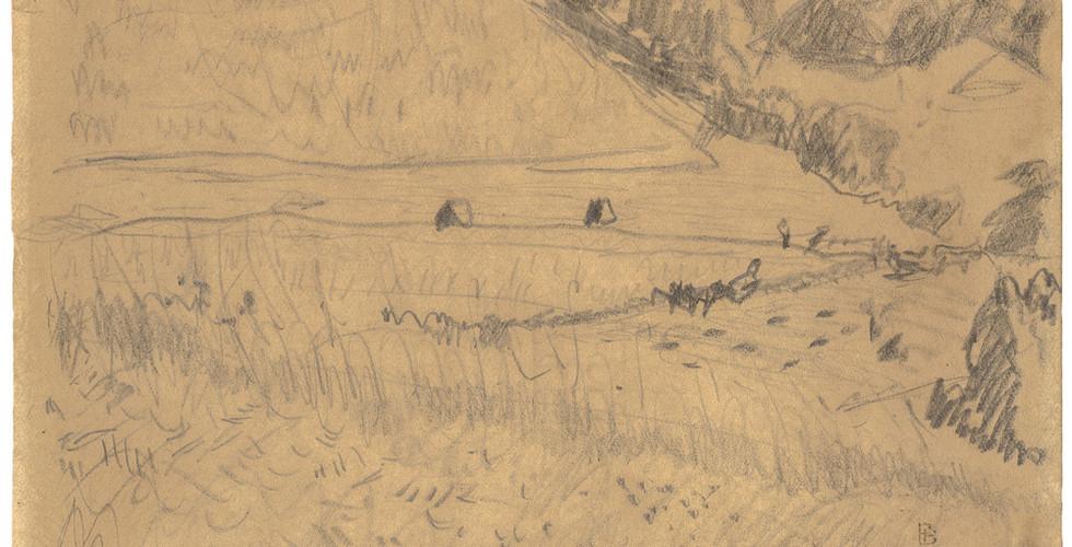 Pierre Bonnard, Paysage, n.d.