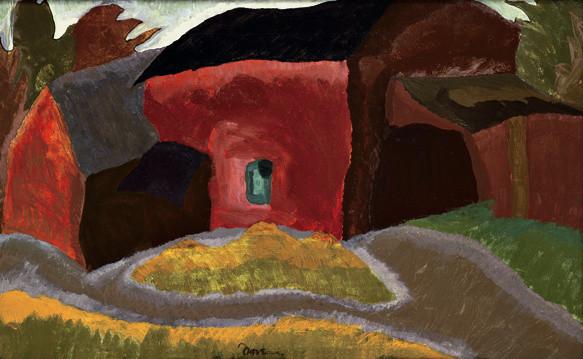 Arthur Dove (1880-1946), Slaughter House, 1937