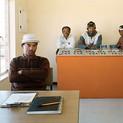 David Goldblatt, Operators of the Theunissen sewage Treatment Plant, Seliane Vincent, Jonas Togo, Piet Jacobs, Albert Lekauta. Masilonyana Local Municipality, Theunissen, Free State. , 12 August 2004