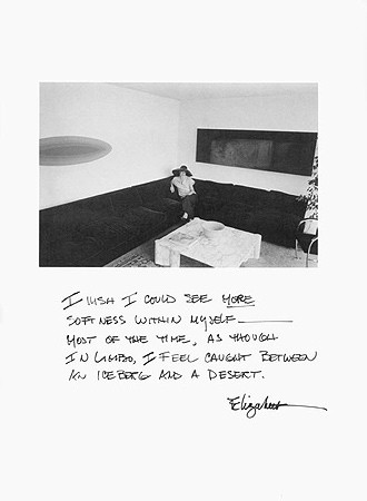 Jim Goldberg, Untitled (I wish I could see more ...), c. 1981-82