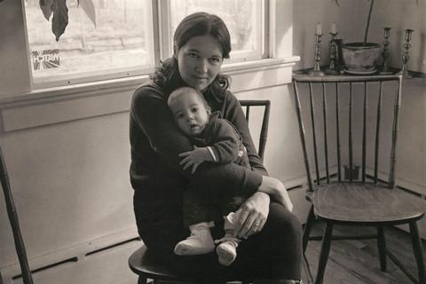 Richard Benson, Barbara and Daniel Benson, 1977