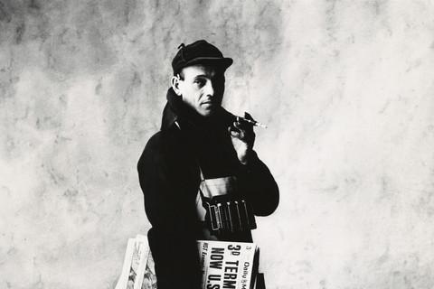 Irving Penn, News Dealer, New York, 1951