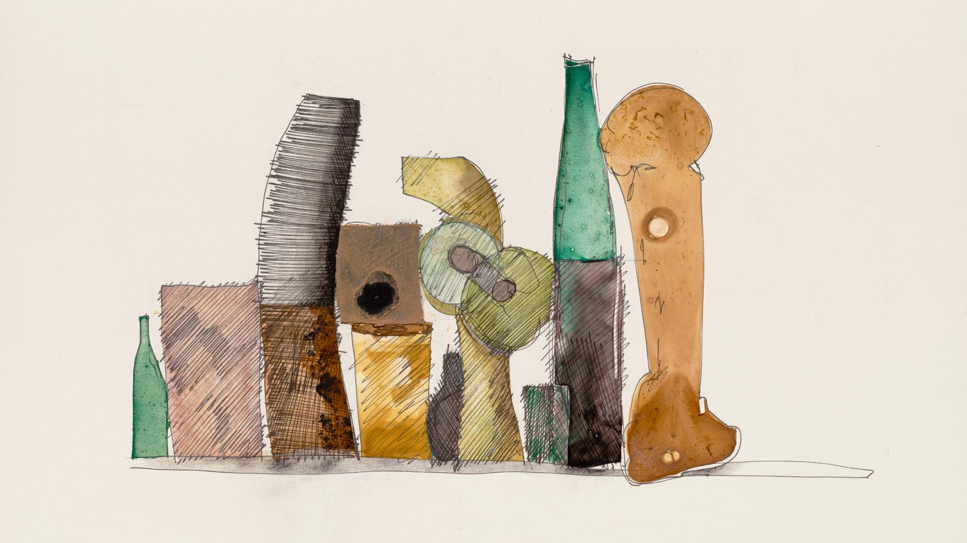Irving Penn, Still Life of Ten Pieces