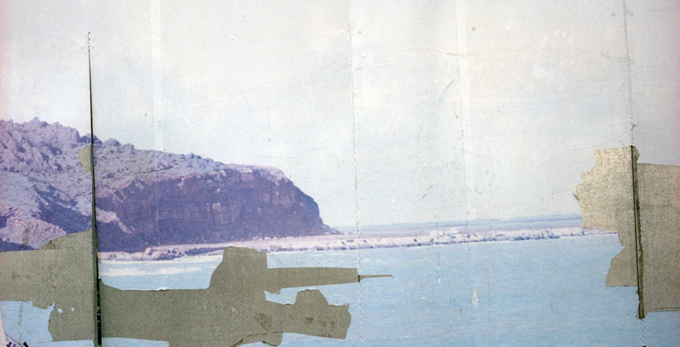 Yto Barrada, Pallisade de chantier (Building Site Wall), Ferry, Fig. 3, Tangier, 2009