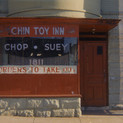 William Christenberry, Chin Toy Inn, 18th Street, NW, Washington D.C., 1973