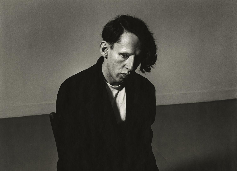 Peter Hujar, John Heys in Black Coat, 1985 (April)