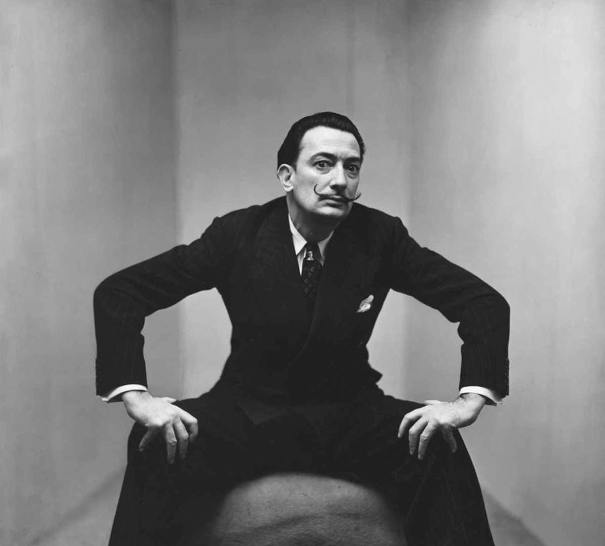 Irving Penn, Salvador Dali, New York, 1947