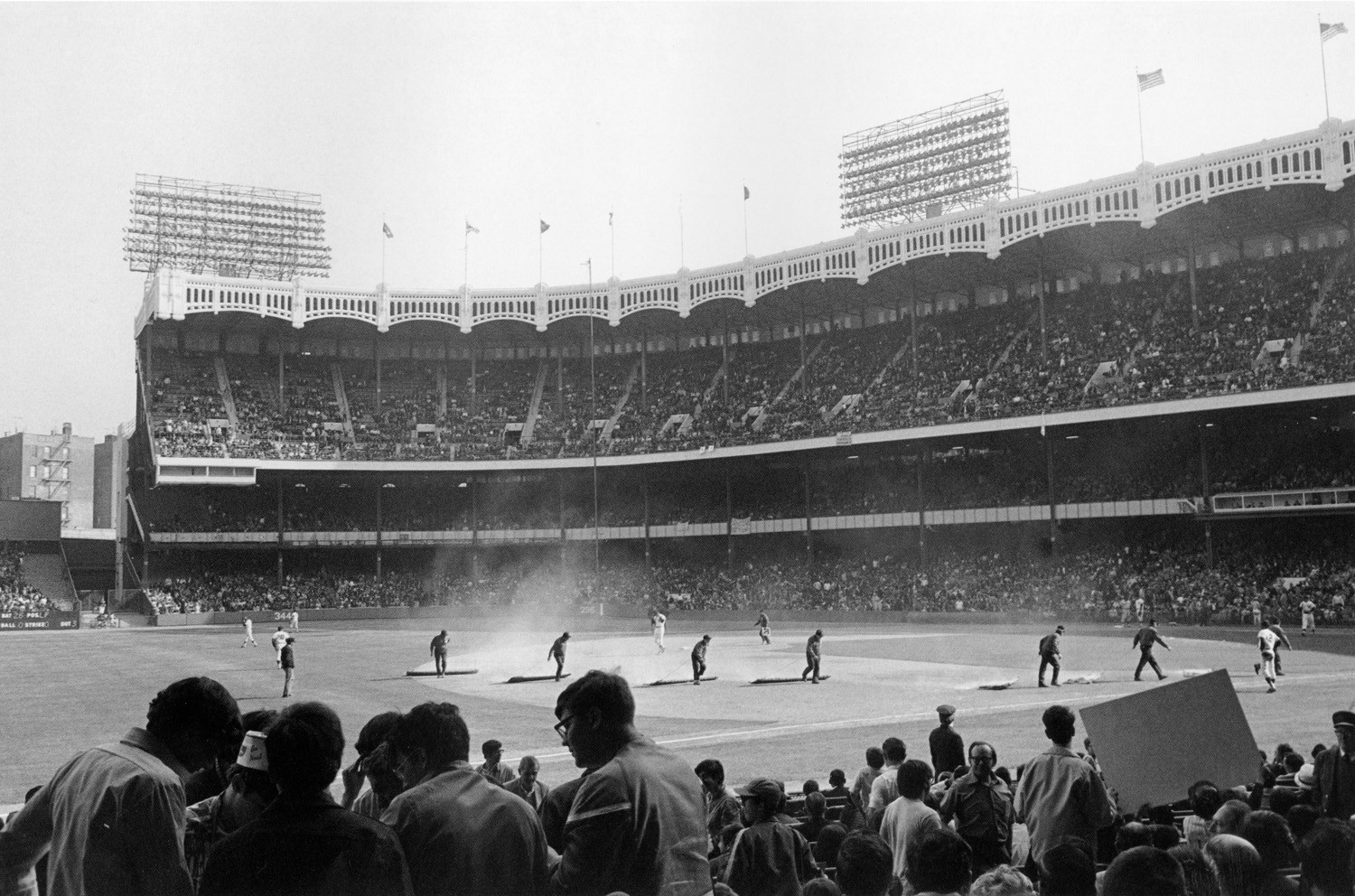 Tod Papageorge, Yankee Stadium, New York, 1970