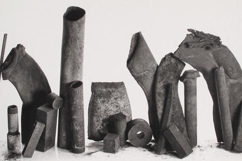 Irving Penn, 20 Metal Pieces, New York, 1980