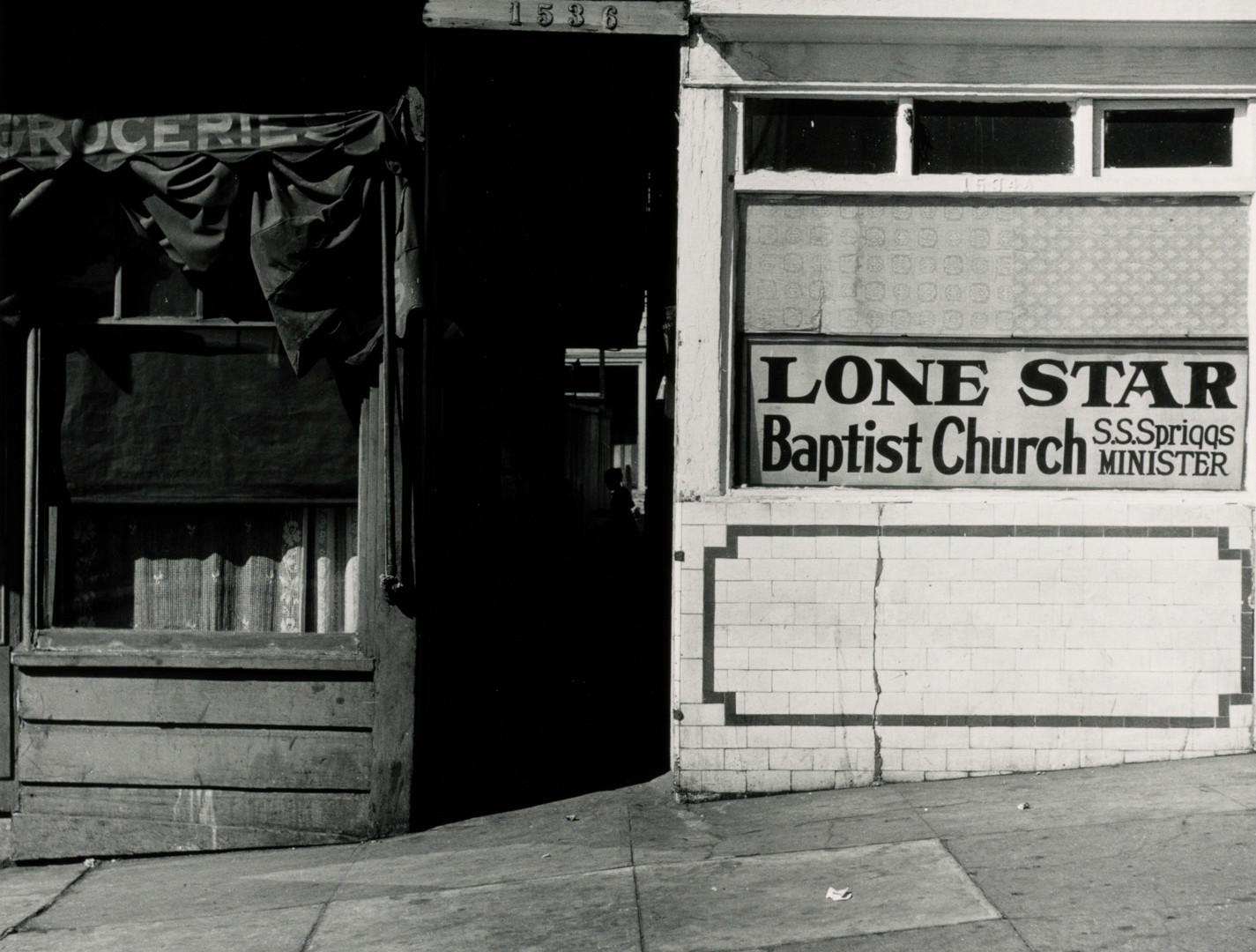 Irving Penn, Lone Star Baptist Church, San Francisco, 1947