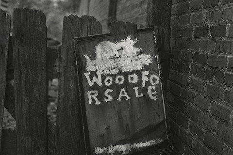 Irving Penn, Wood for Sale, American South, 1995