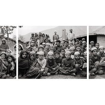Fazal Sheikh, Absul Kalan's madrassa, Afghan refugee village, Urghuch, Northern Pakistan, 1997