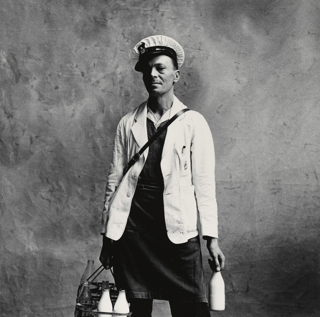 Irving Penn, Milkman, London, 1950