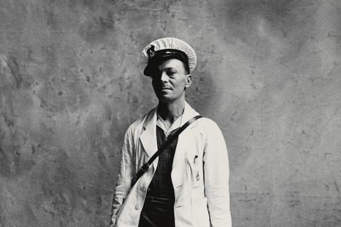 Irving Penn, Milkman, London, 1950